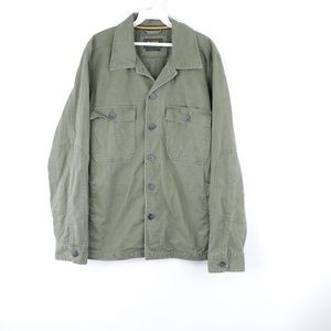 Billabong Surplus Mens Medium Filed Jacket Green